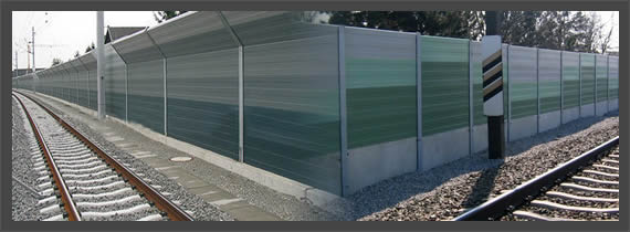 Aluminum Railway Sound Proof Noise Barrier Panel Cells