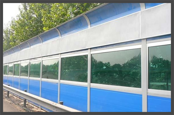 Plastic Panels Solid Barrier
