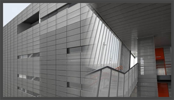 Perforated Aluminum Acoustical Panels For Architectural Ceiling Uses