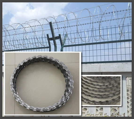 Anti-Climbing High Security Fencing Topping for Highway and Other Facilities
