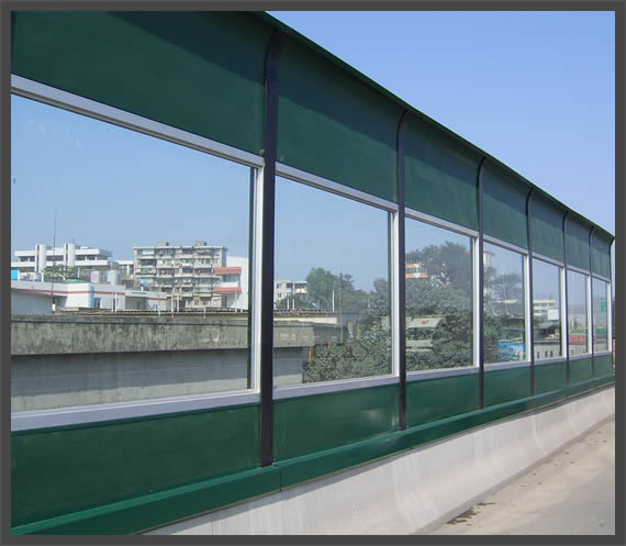 Highway Sound Proof Panels Sound Absorbing Solid Wall