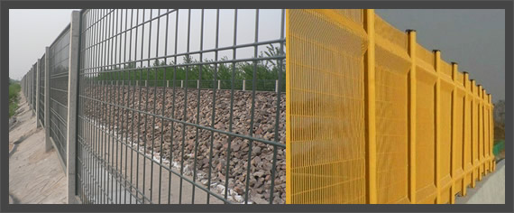 Welded Wire Mesh Security Fencing Panels